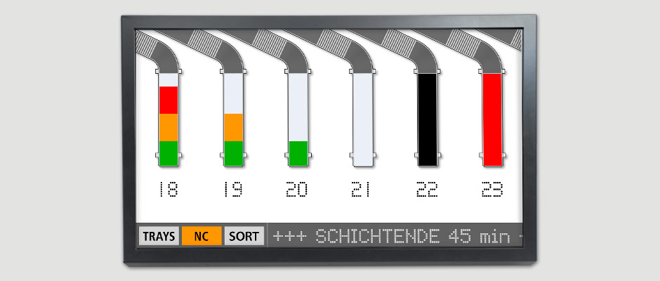 DPD Digital-Signage produktionssteuerung