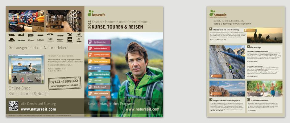 naturzeit Kurse, Touren + Reisen Katalog