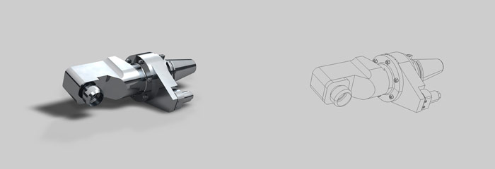 Fotorealistische Produktabbildung aus Konstruktionsdaten
