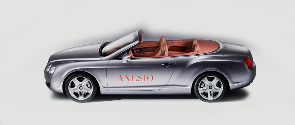 axesio Branding - Fahrzeug Beschriftung