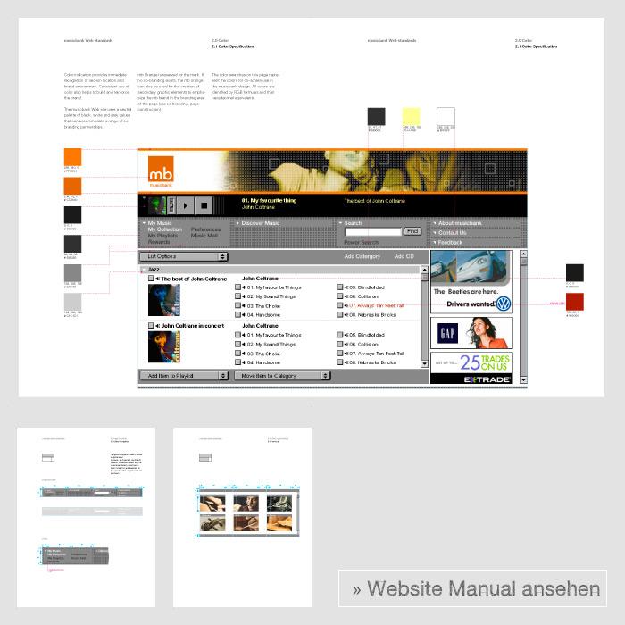 musicbank website guideline